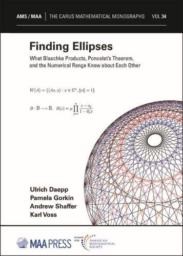 FINDING ELLIPSES (CARUS MATHEMATICAL MONOGRAPHS) (HC)