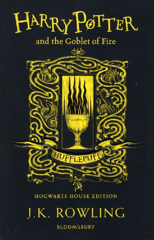 HARRY POTTER AND THE GOBLET OF FIRE (HUFFLEPUFF EDITION)