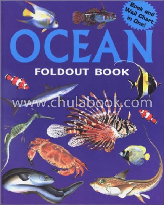 OCEAN: FOLDOUT BOOK (BOOK AND WALL CHART IN ONE!) (HC)