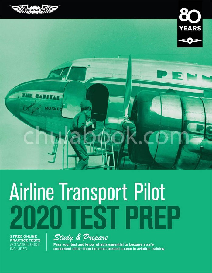 AIRLINE TRANSPORT PILOT TEST PREP 2020: STUDY & PREPARE: PASS YOUR TEST AND KNOW WHAT IS ESSENTIAL