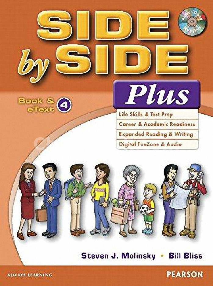 SIDE BY SIDE PLUS 4: STUDENT BOOK AND ETEXT (1 BK./1 CD-ROM)