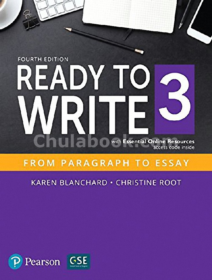 READY TO WRITE 3: FROM PARAGRAPH TO ESSAY (STUDENT BOOK WITH ESSENTIAL ONLINE RESOURCES)