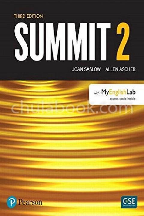 SUMMIT 2: STUDENT'S BOOK (WITH MYENGLISHLAB)