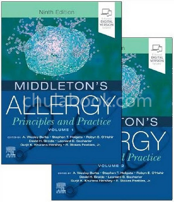 MIDDLETON'S ALLERGY: PRINCIPLES AND PRACTICE (VOLUME 1-2) (2 BK.) (HC)