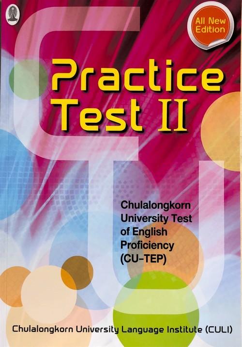 CU-TEP PRACTICE TEST II (1 BK./1 CD-ROM)