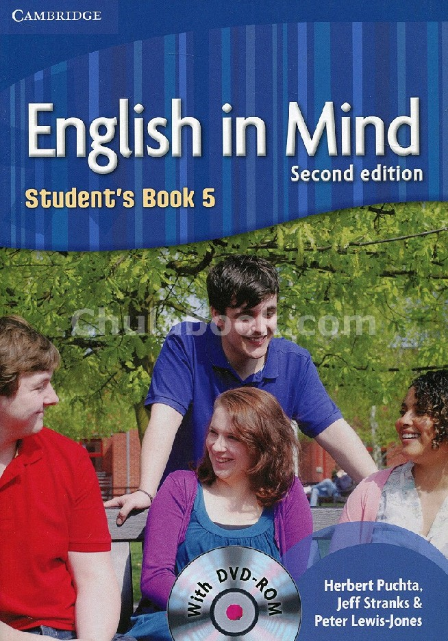 ENGLISH IN MIND 5: STUDENT'S BOOK (1 BK./1 DVD)