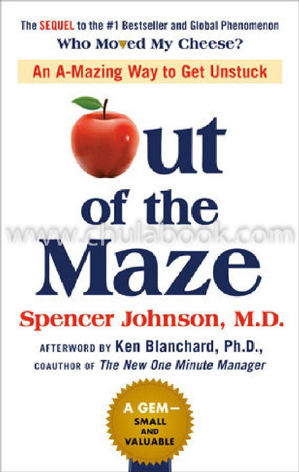 OUT OF THE MAZE: AN A-MAZING WAY TO GET UNSTUCK (HC)
