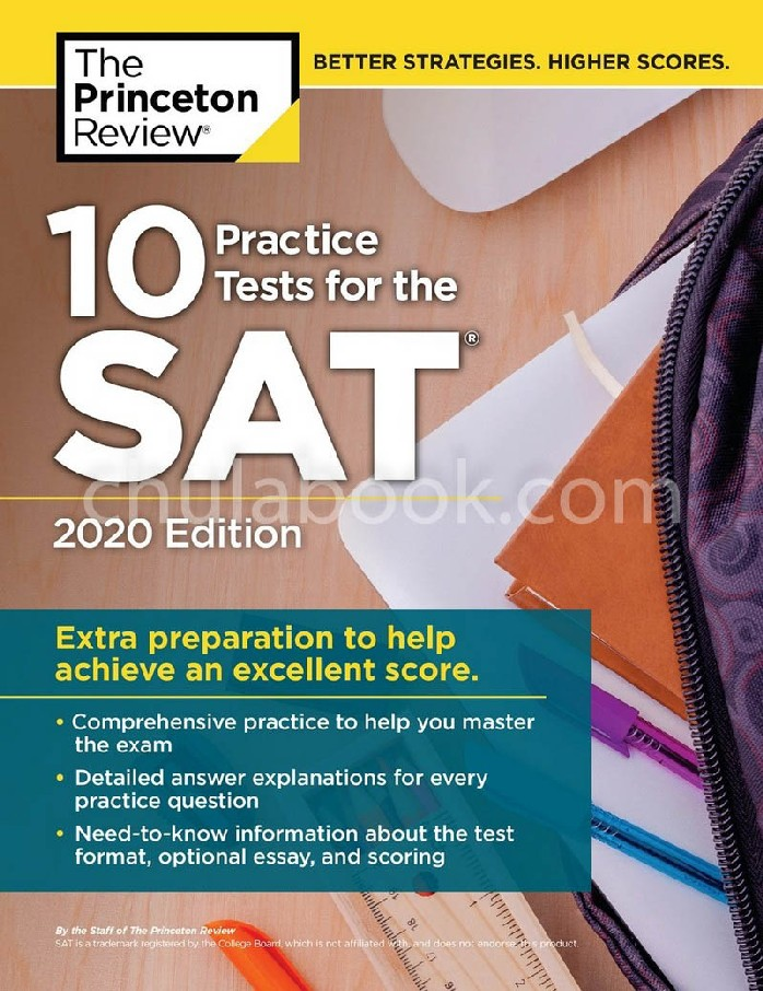 10 PRACTICE TESTS FOR THE SAT, 2020 EDITION: EXTRA PREPARATION TO HELP ACHIEVE AN EXCELLENT SCORE