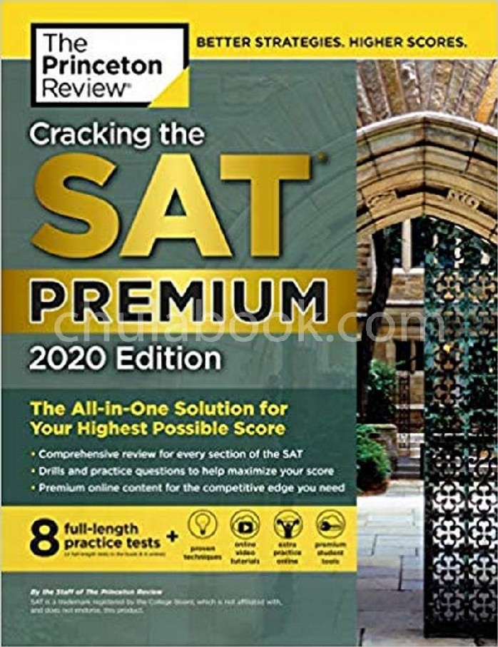 CRACKING THE SAT PREMIUM: 2020 EDITION (WITH 7 PRACTICE TESTS) (THE PRINCETON REVIEW)