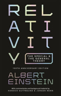 RELATIVITY: THE SPECIAL AND THE GENERAL THEORY (100 TH ANNIVERSARY EDITION)