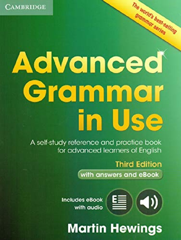 ADVANCED GRAMMAR IN USE (WITH ANSWERS AND INTERACTIVE EBOOK)