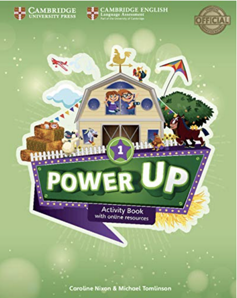 POWER UP LEVEL 1: ACTIVITY BOOK WITH ONLINE RESOURCES AND HOME BOOKLET