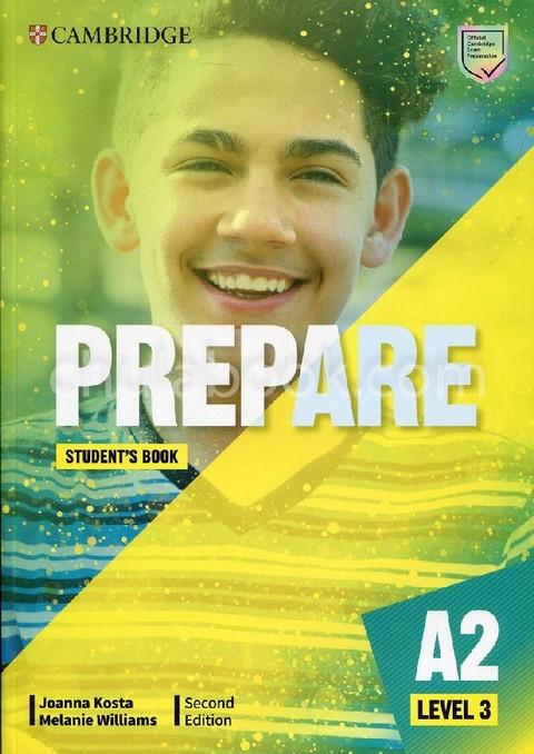 CAMBRIDGE ENGLISH PREPARE! LEVEL 3: STUDENTS BOOK (B1)