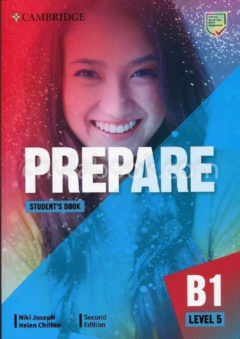 CAMBRIDGE ENGLISH PREPARE! LEVEL 5: STUDENTS BOOK (B1+)