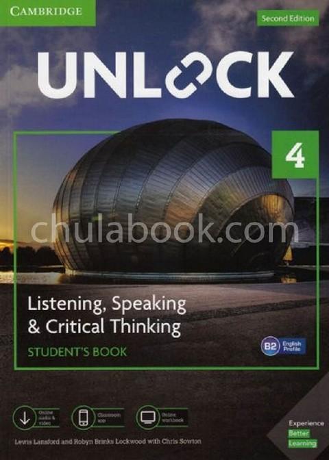 UNLOCK 4: LISTENING AND SPEAKING SKILLS (STUDENT'S BOOK AND ONLINE WORKBOOK)