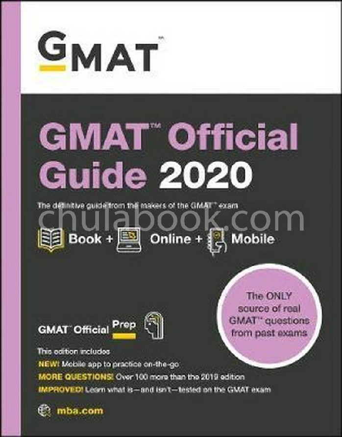 GMAT OFFICIAL GUIDE 2020: BOOK+ONLINE (OFFICIAL FOR GMAT REVIEW)