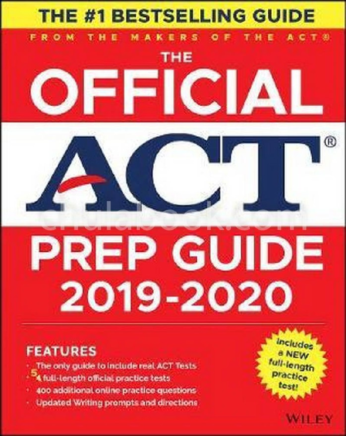 THE OFFICIAL ACT PREP GUIDE 2019-2020: FROM THE MAKERS OF THE ACT (BOOK+BONUS ONLINE CONTENT)