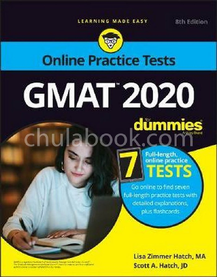 GMAT FOR DUMMIES 2020: BOOK+7 PRACTICE TESTS ONLINE + FLASHCARDS