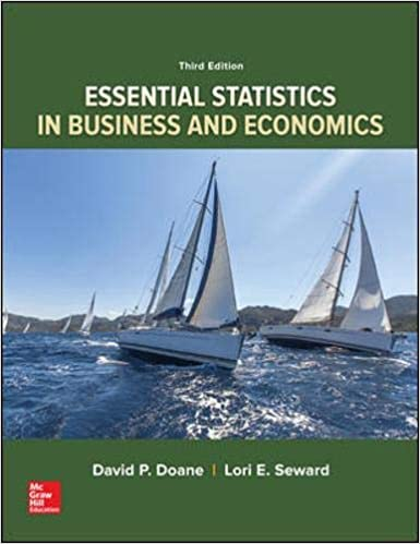 ESSENTIAL STATISTICS IN BUSINESS AND ECONOMIC (ISE)