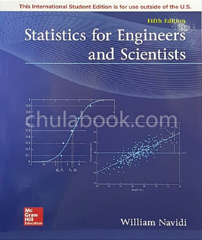 STATISTICS FOR ENGINEERS AND SCIENTISTS (ISE)