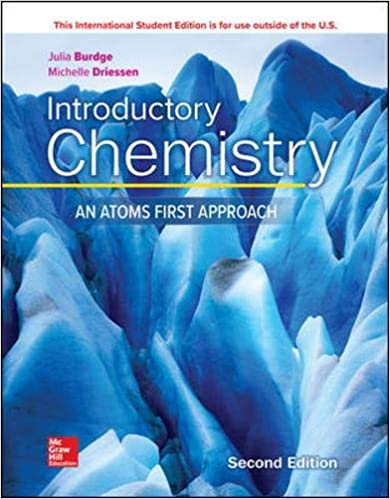 INTRODUCTORY CHEMISTRY: AN ATOMS FIRST APPROACH (IE)