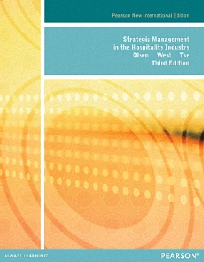 STRATEGIC MANAGEMENT IN THE HOSPITALITY INDUSTRY (PNIE)