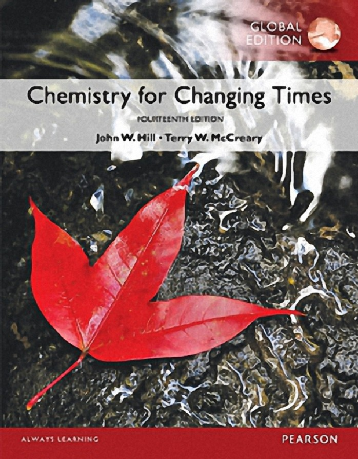 CHEMISTRY FOR CHANGING TIMES (GLOBAL EDITION)