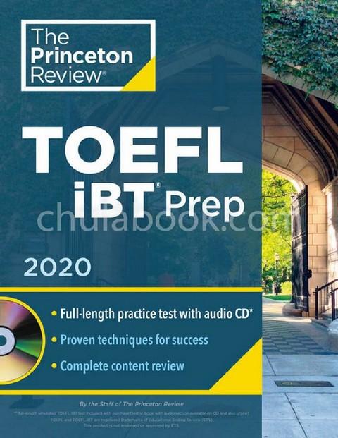 PRINCETON REVIEW TOEFL IBT PREP 2020 (1 BK./1 CD-ROM)
