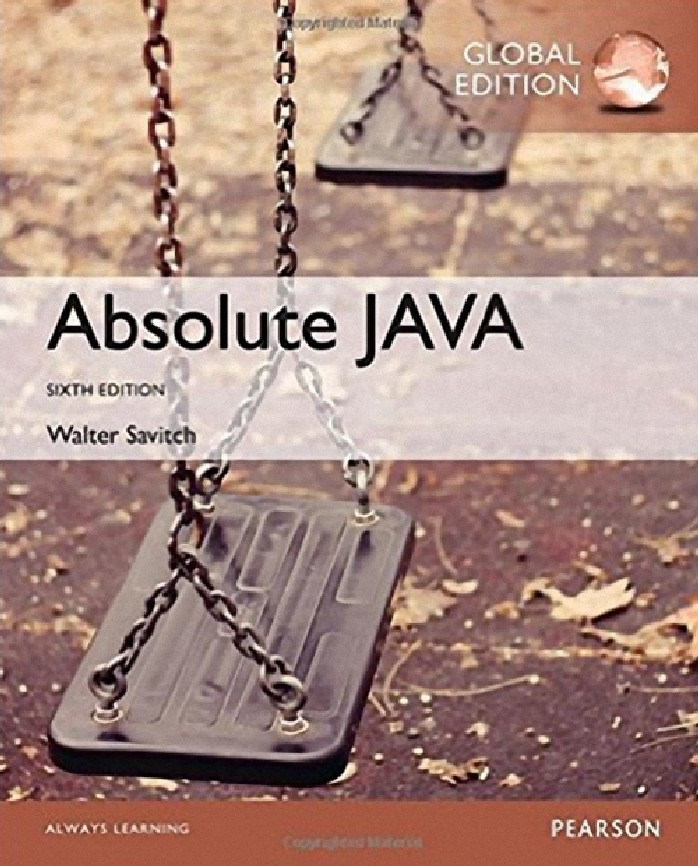 ABSOLUTE JAVA (GLOBAL EDITION)