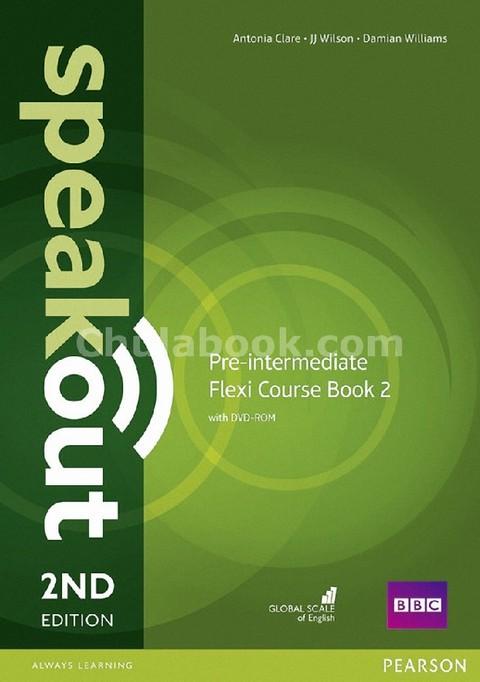 SPEAKOUT: PRE-INTERMEDIATE (FLEXI STUDENTS' BOOK 2) (1 BK./1 DVD)