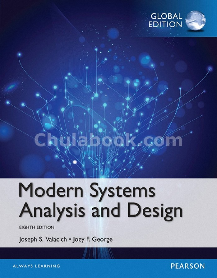 MODERN SYSTEMS ANALYSIS AND DESIGN (GLOBAL EDITION)