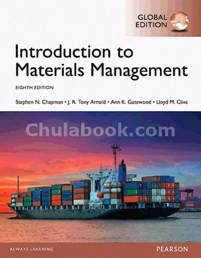 INTRODUCTION TO MATERIALS MANAGEMENT (GLOBAL EDITION)