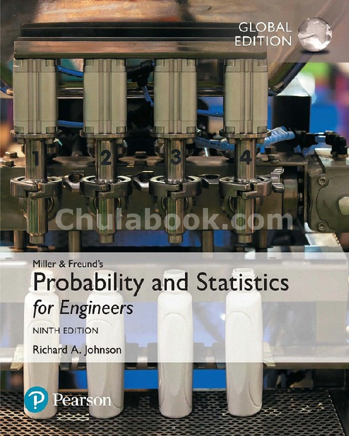 MILLER AND FREUND'S PROBABILITY AND STATISTICS FOR ENGINEERS (GLOBAL EDITION)