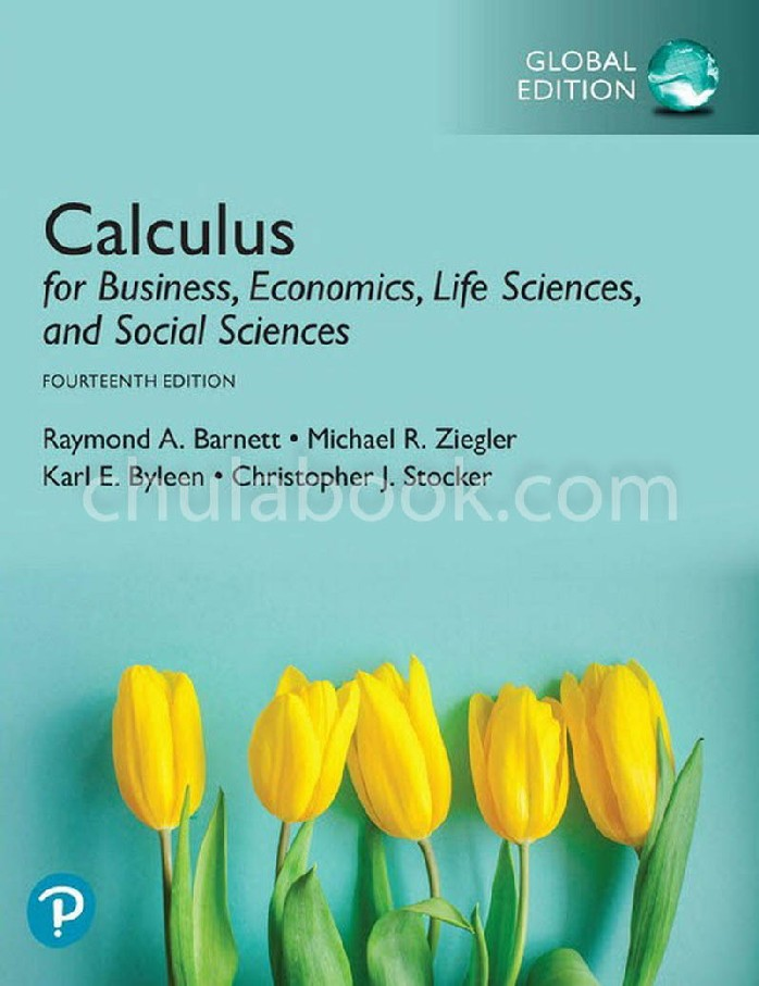 CALCULUS FOR BUSINESS, ECONOMICS, LIFE SCIENCES AND SOCIAL SCIENCES (GLOBAL EDITION