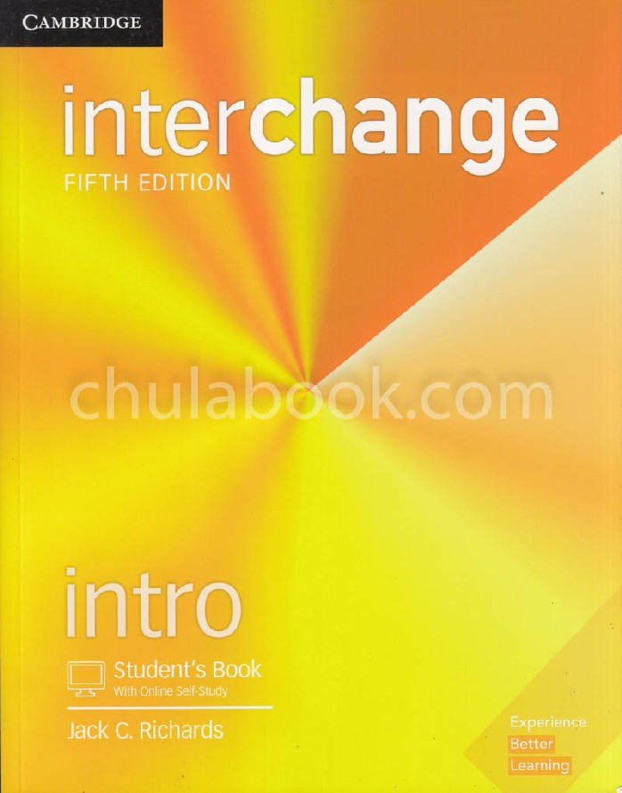 INTERCHANGE INTRO: STUDENT'S BOOK WITH SELF-STUDY