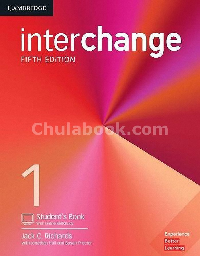 INTERCHANGE 1: STUDENT'S BOOK WITH SELF-STUDY