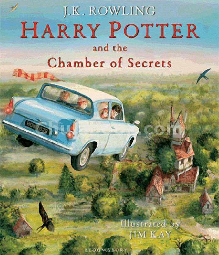 HARRY POTTER AND THE CHAMBER OF SECRETS (ILLUSTRATED EDITION) (BOOK 2) (HC)