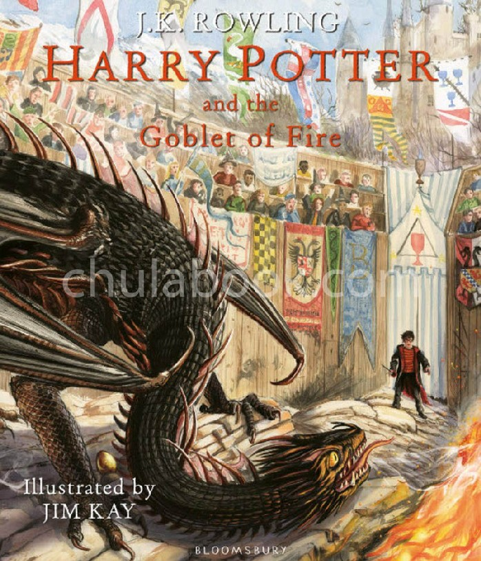 HARRY POTTER AND THE GOBLET OF FIRE (ILLUSTRATED EDITION) (HC)