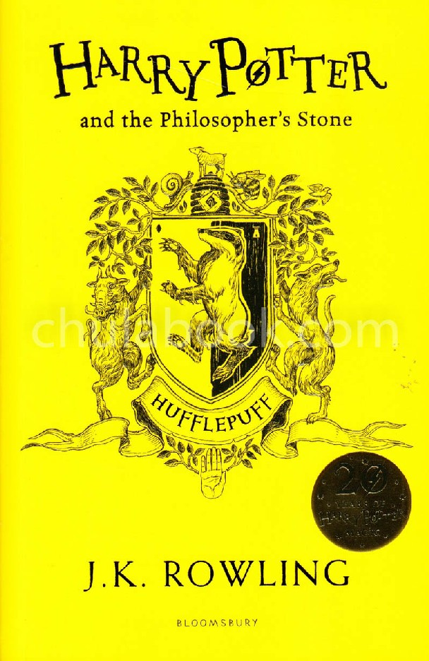 HARRY POTTER AND THE PHILOSOPHER'S STONE (HUFFLEPUFF EDITION)
