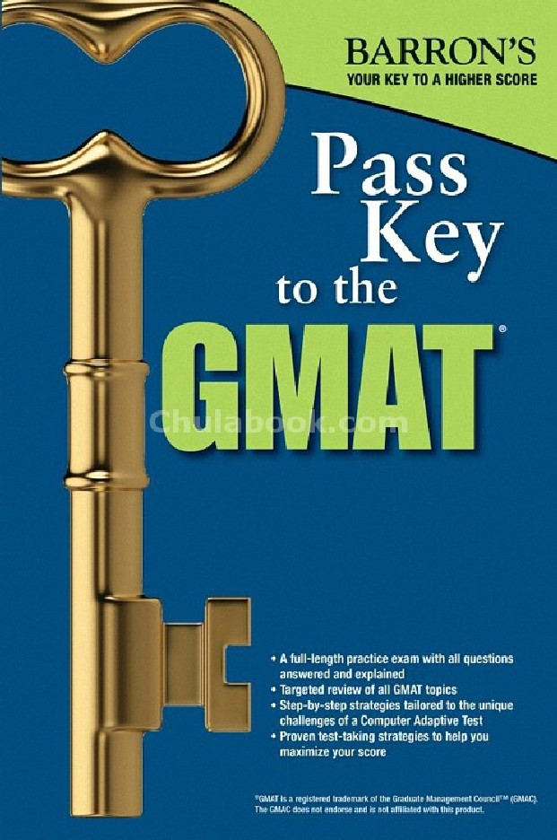 PASS KEY TO THE GMAT (BARRON'S)