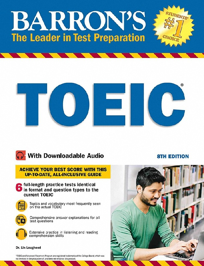 TOEIC (BARRON'S) (WITH DOWNLOADABLE AUDIO)