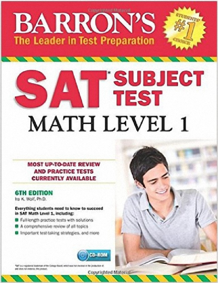 BARRON'S SAT SUBJECT TEST: MATH LEVEL 1 (WITH CD-ROM) (1BK./1 CD-ROM) **