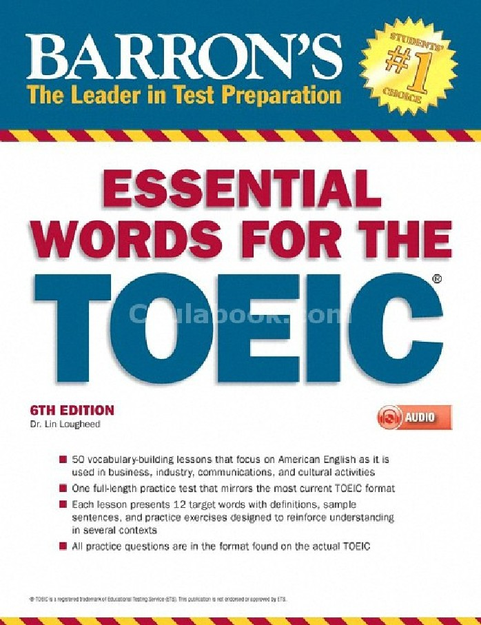 ESSENTIAL WORDS FOR THE TOEIC (WITH MP3) (1 BK./1 MP3)