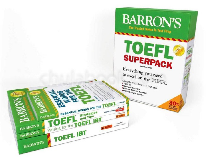 TOEFL IBT SUPERPACK (4 BK./2 CD-ROM)