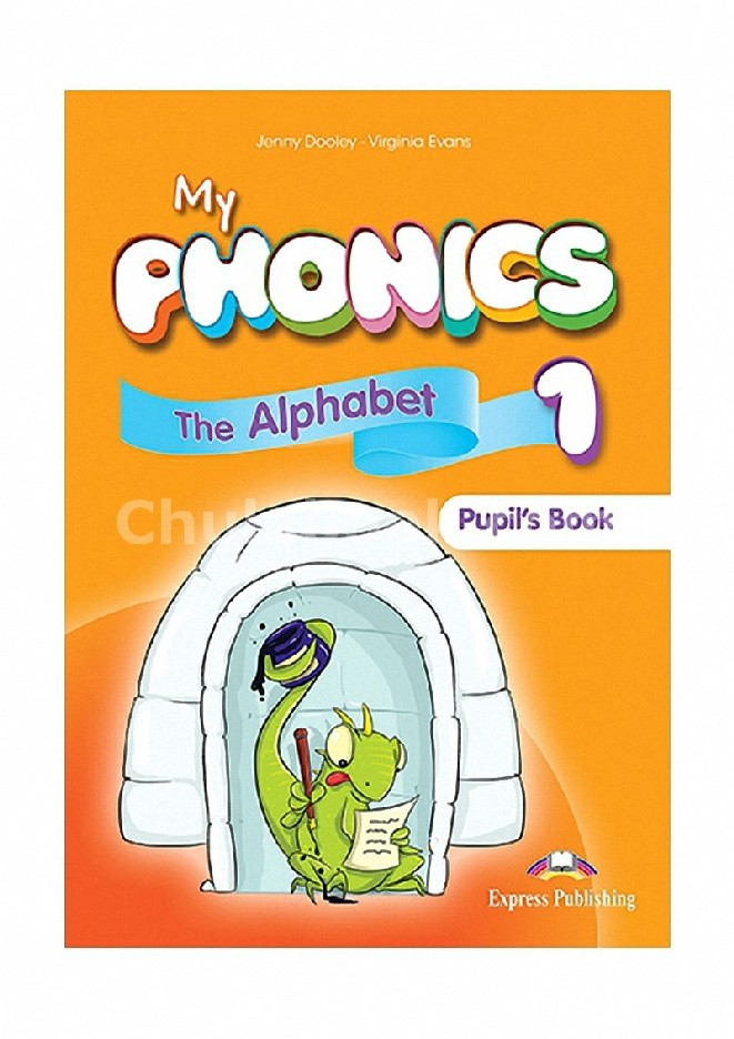 MY PHONICS 1 PUPIL'S BOOK (INTERNATIONAL) WITH CROSSPLATFORM APPLICATION