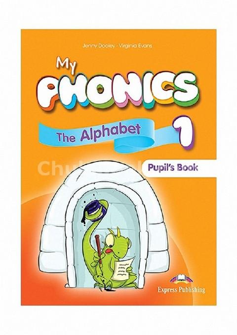 MY PHONICS 1 PUPIL'S BOOK (INTERNATIONAL) WITH CROSSPLATFORM APPLICATION
