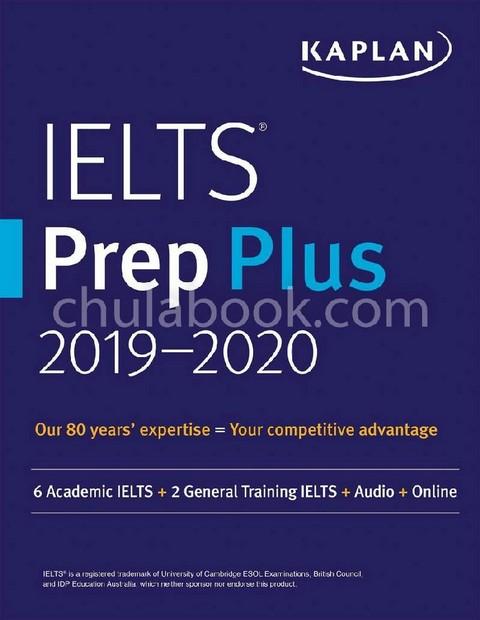 IELTS PREP PLUS 2019-2020: 6 ACADEMIC IELTS+2 GENERAL TRAINING IELTS+AUDIO+ONLINE