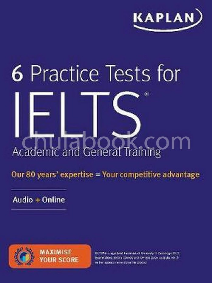 6 PRACTICE TESTS FOR IELTS ACADEMIC AND GENERAL TRAINING: AUDIO+ONLINE