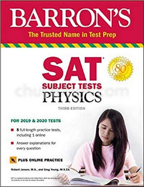 SAT SUBJECT TEST PHYSICS (2020-2021 EDITION) (BARRON'S)