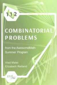 112 COMBINATORIAL PROBLEMS FROM THE AWESOMEMATH SUMMER PROGRAM (HC)